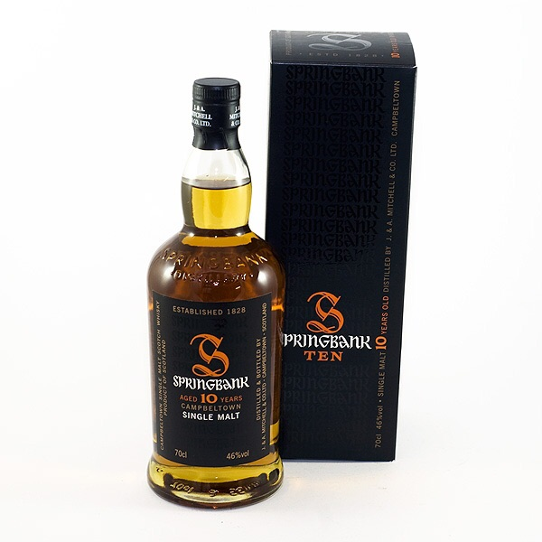 Springbank 10 Year Old. £39.50 from The Good Spirits Co.