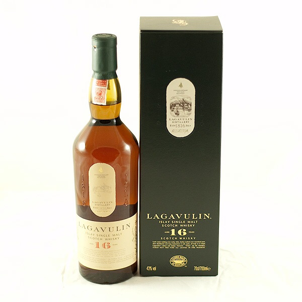 Lagavulin 16 Year Old. £57 from The Good Spirits Co.