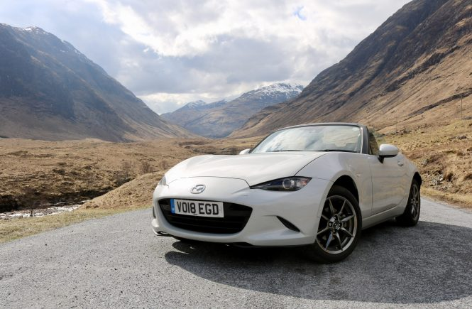 Road Testing The New Mazda MX5