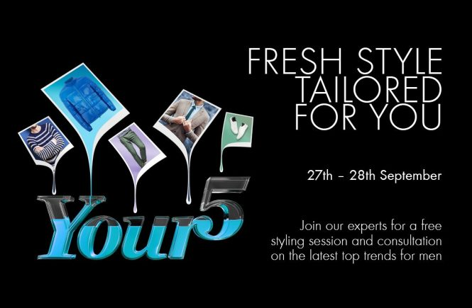 Silverburn YOUR5 Styling Sessions Returns